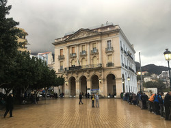 Bejaia náměstí