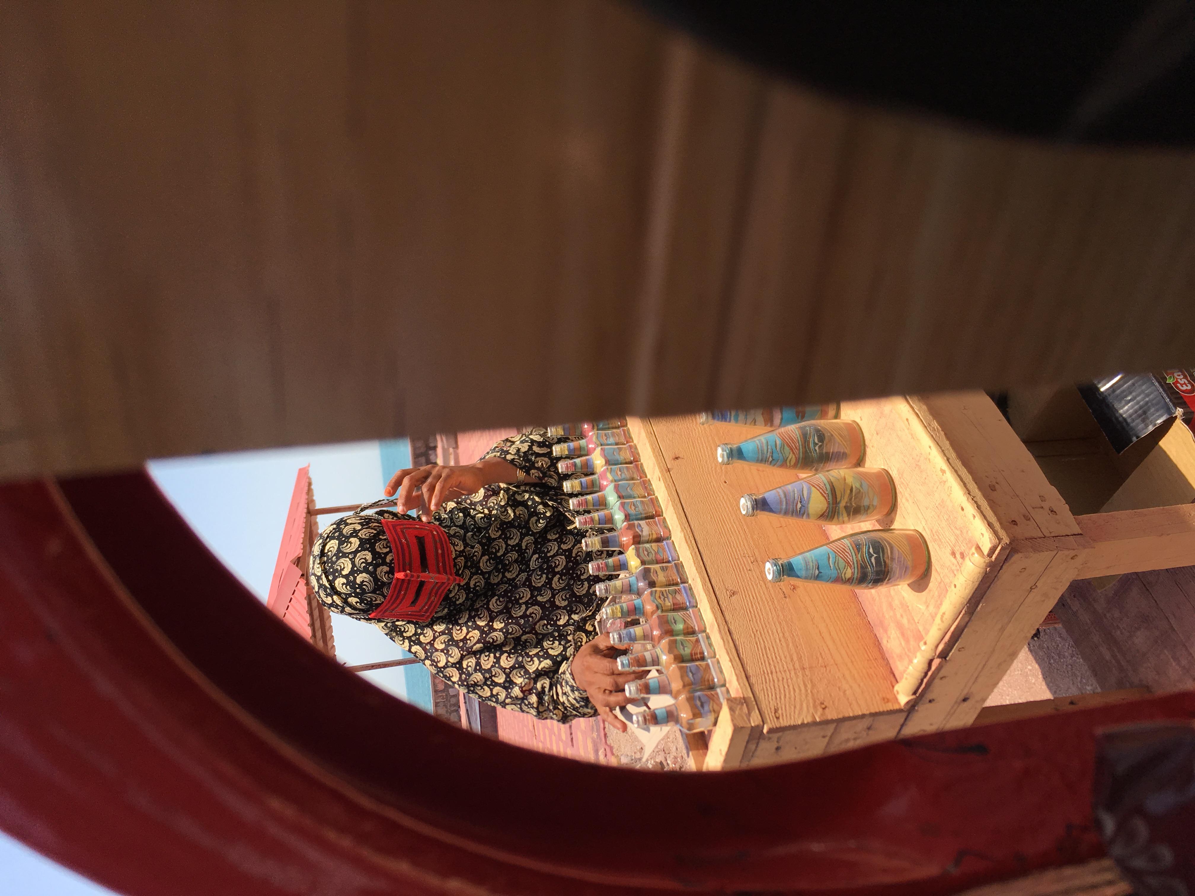 Tradiční žena v Perském zálivu