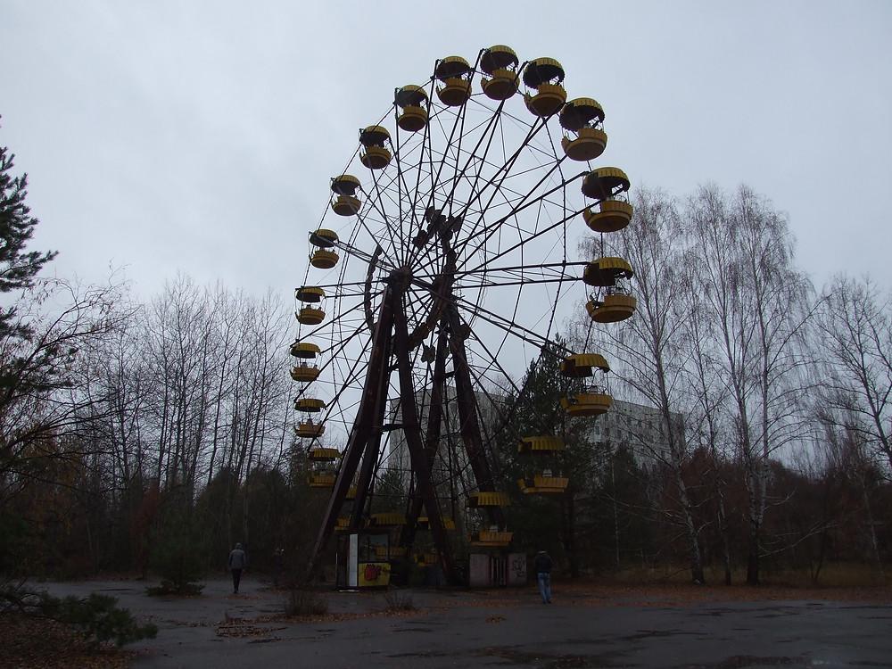 Ruské kolo, mělo být uvedeno do provozu 5 dní po výbuchu