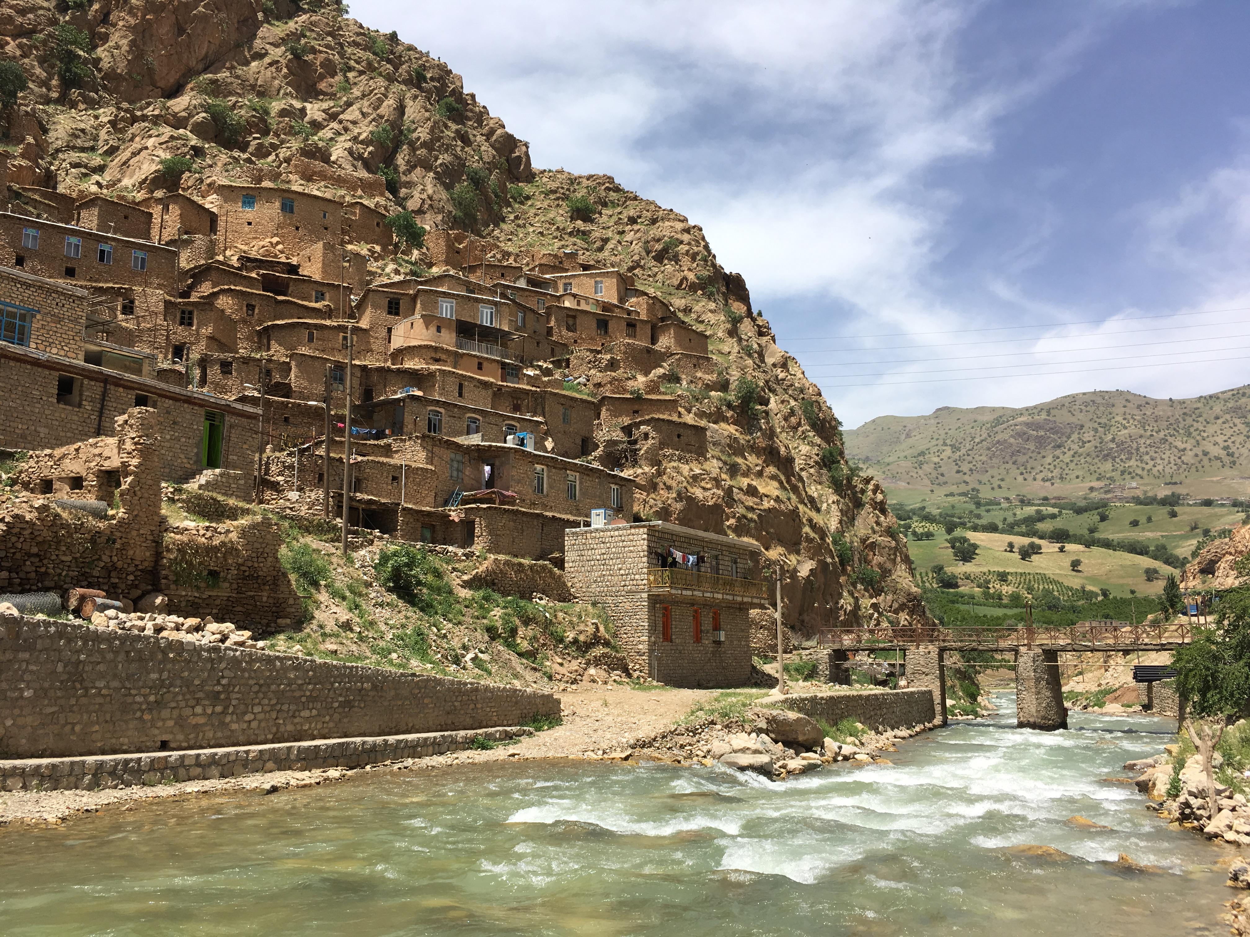Kurdská vesnička Palingan
