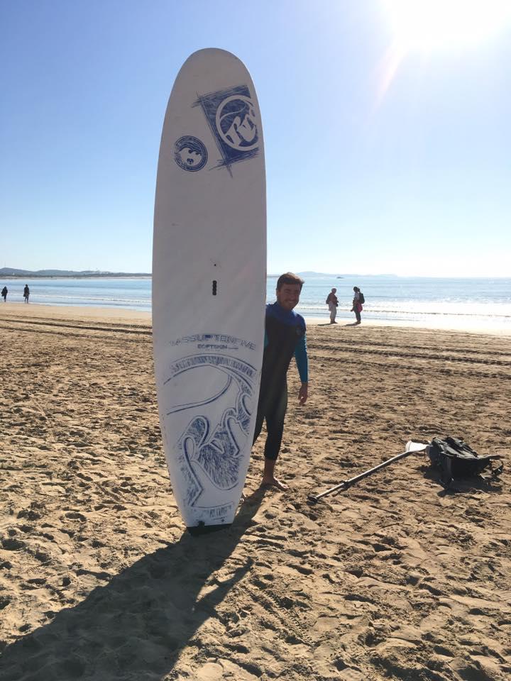 Vánoční surfing