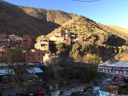 Berberská vesnice
