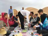 CK HAMIDI - Velký okruh Íránem snídaně v poušti