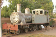 CK HAMIDI: Súdán Atbara - železniční muzeum