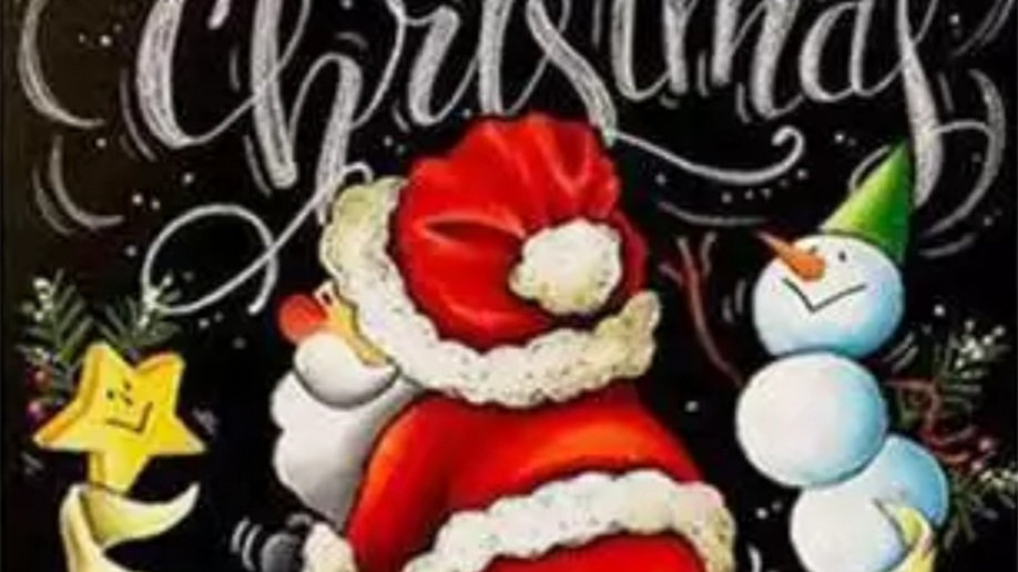 Merry ChristmasBlack