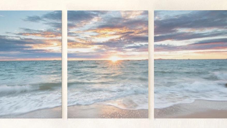 3 luiks Beach