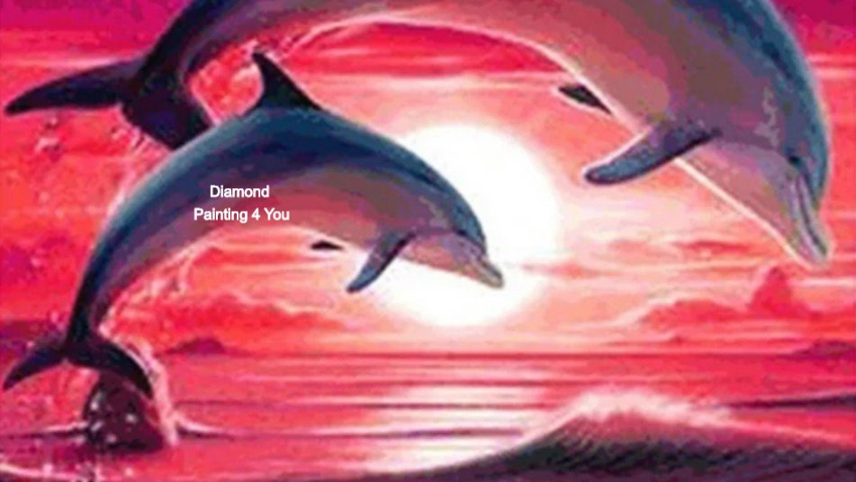Dolfijnen roze
