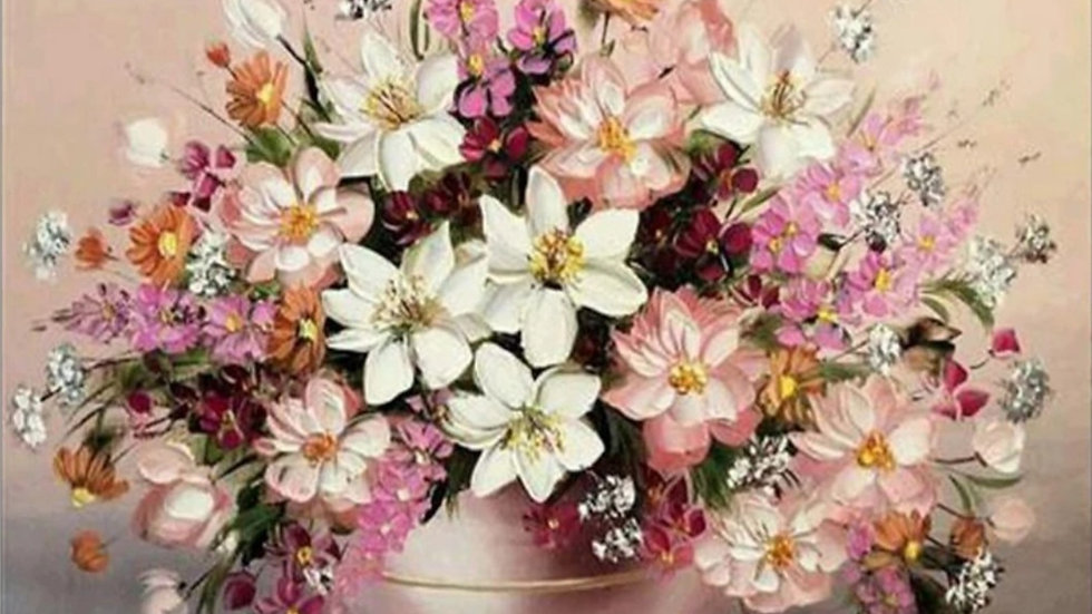 Bloemen roze wit