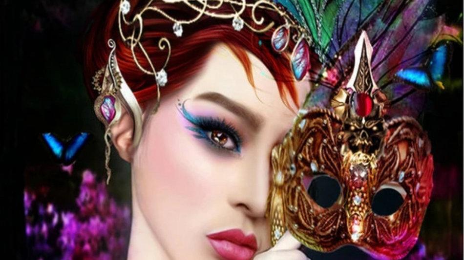 Vrouw Masker