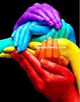 Gekleurde handen(Tijdelijk uitverkocht)