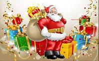 Kerstman en kado's