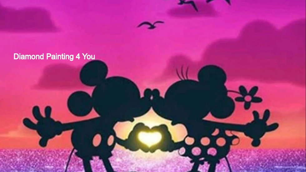 Mickey&Minnie hartje