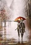 Koppel paraplu