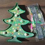 Kerstboom met lampjes