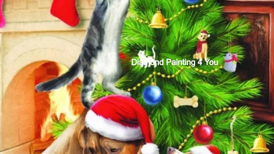 Honden/Katten kerstboom