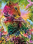 Gekleurde Luipaard