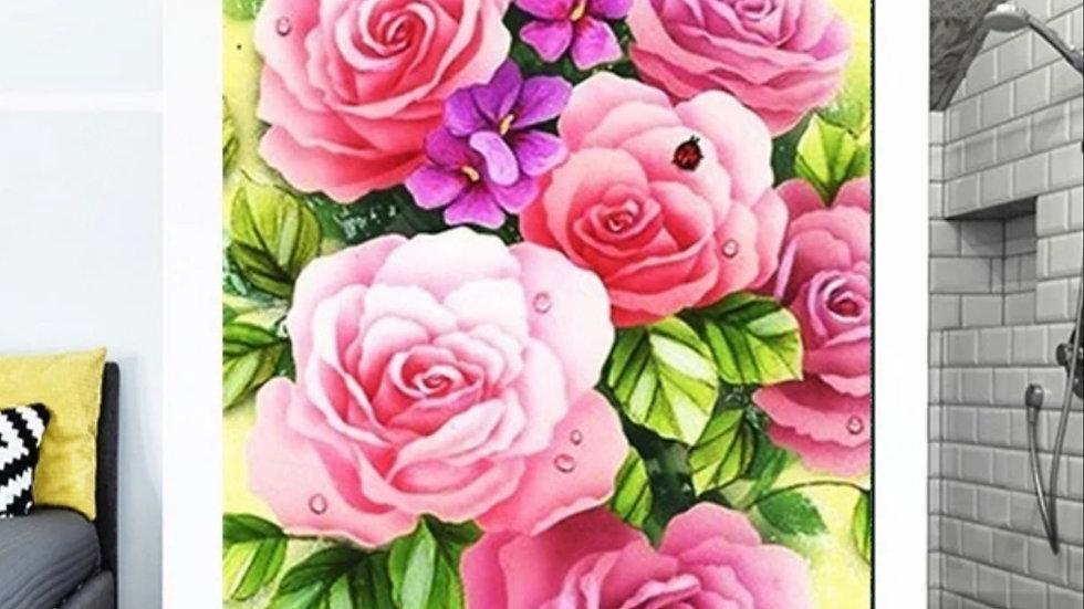 Roze bloemen2