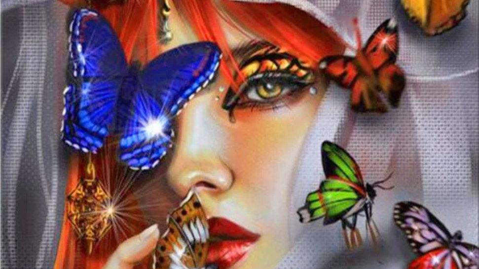 Vrouw&Vlinders