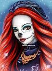 Meisje Halloween