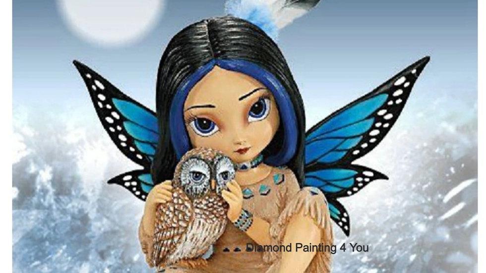 Vlinder meisje