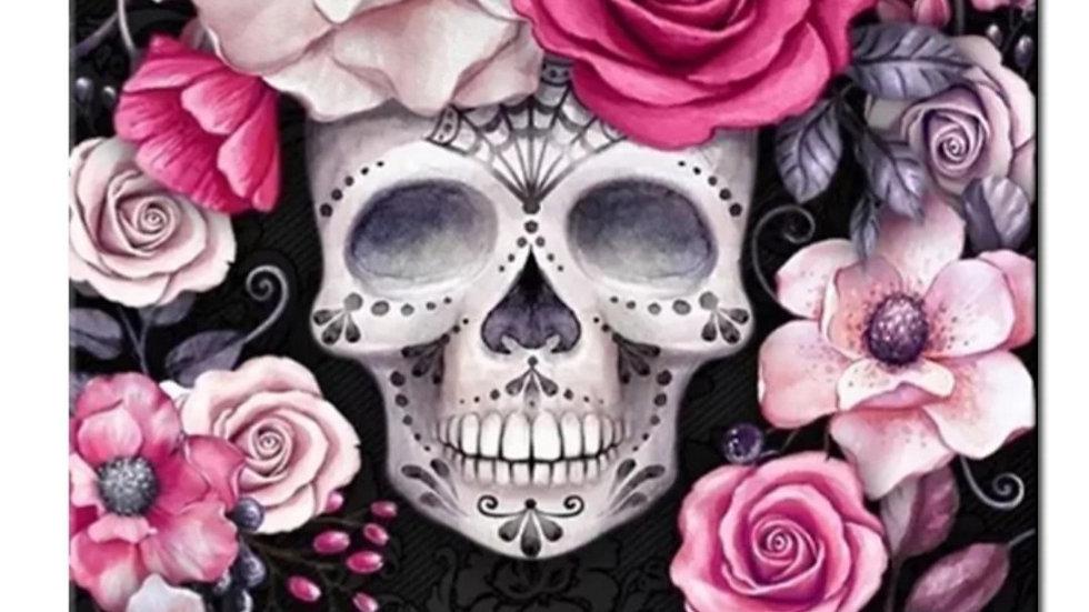 Skull en Rozen