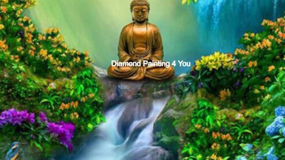 Boeddha waterval