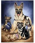 Herder en pups