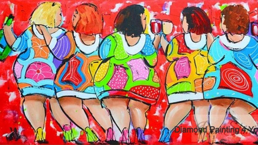 Dikke Dames rood