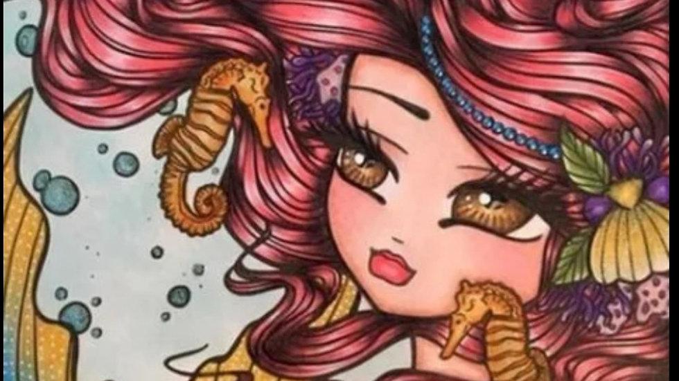 Cartoon Girl6