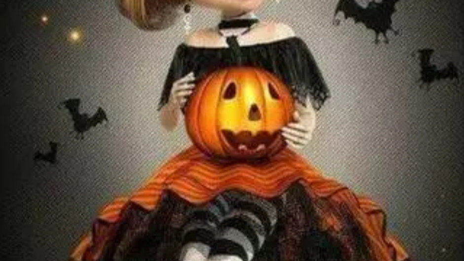 Halloween meisje