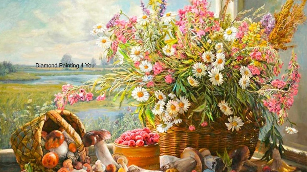 Roze Wit bloemen