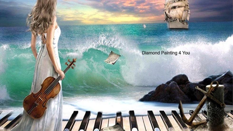 Vrouw viool/piano