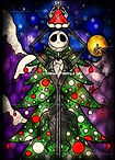 Jack Skellington Kerst