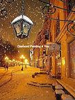 Sneeuw straat