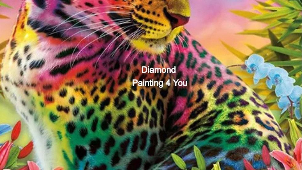 Luipaard Gekleurd