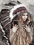 Indianen vrouw