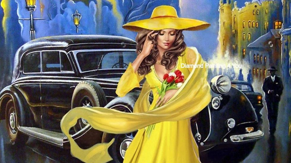 Vrouw geel