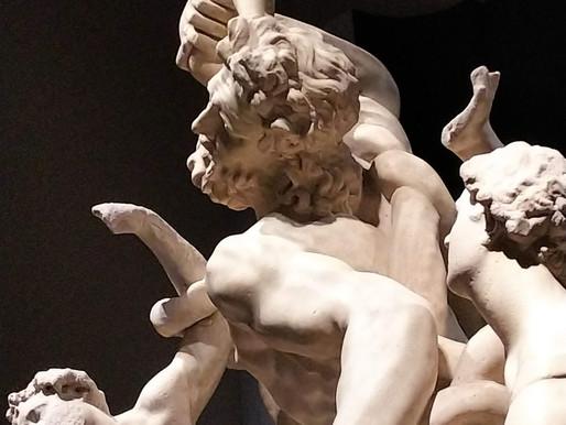 小さな彫刻の「はっ」のこと:ミケランジェロと理想の身体展