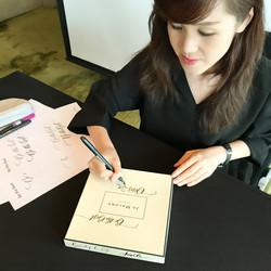 Onsite Calligraphy Workshop