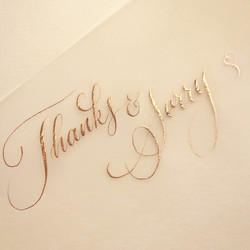 Thanks & Sorry