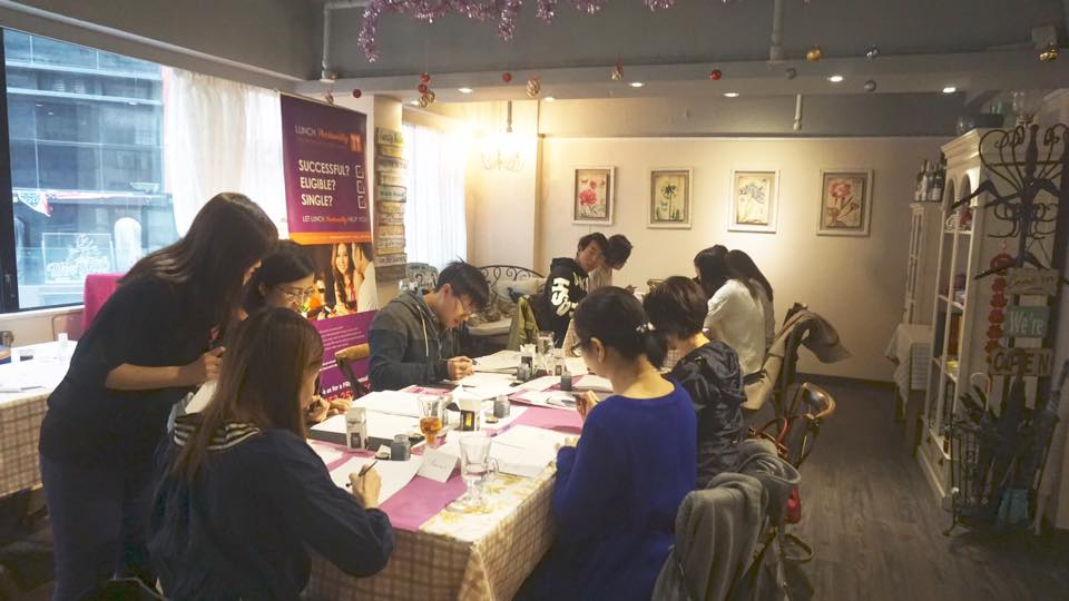 Pointed Pen Workshop
