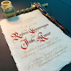 Calligraphy design and service