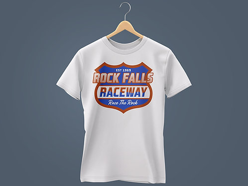 2021 RFR Chest Plate Red, White & Blue T-Shirt