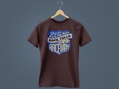 2021 Race The Rock Car Royal/Black T-Shirt