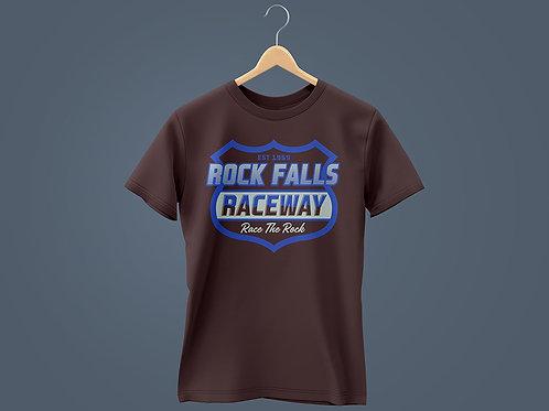 2021 RFR Chest Plate Royal Blue, White & Black T-Shirt