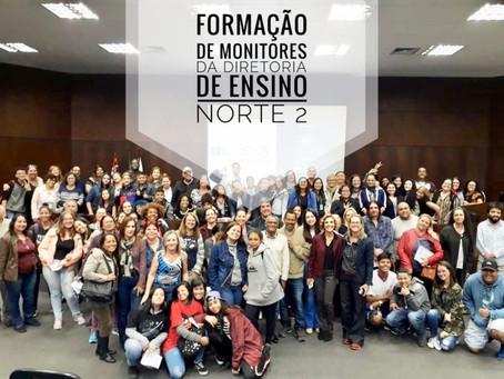 Formação de monitores do SBC vai à Escola ocorreu em São Paulo e Santo André