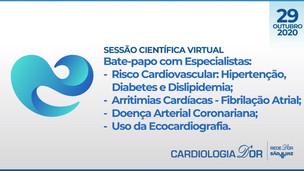 Bate-papo com Especialistas: Risco Cardiovascular