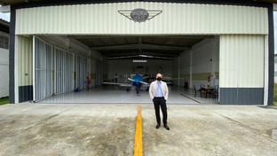 Comissão de Direito Aeronáutico da OAB-PB visita Clube destinado à aviação