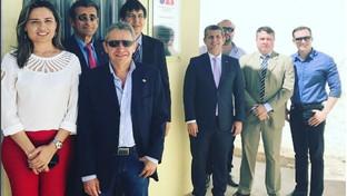 Subseção da OAB de Sousa inaugura parlatório na cadeia pública da cidade de Uiraúna