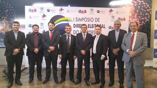 Paulo Maio participa da abertura do I Simpósio de Direito Eleitoral do Nordeste